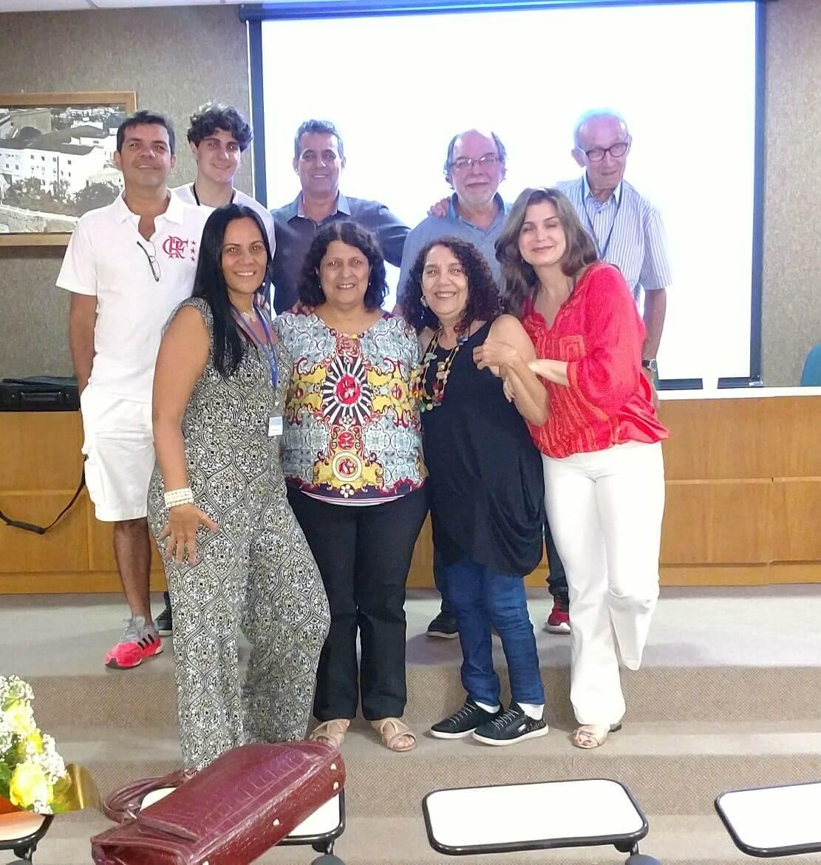 Equipe APC no 1º Congresso Sobre a Doença de Parkinson do Estado do Espírito Santo.